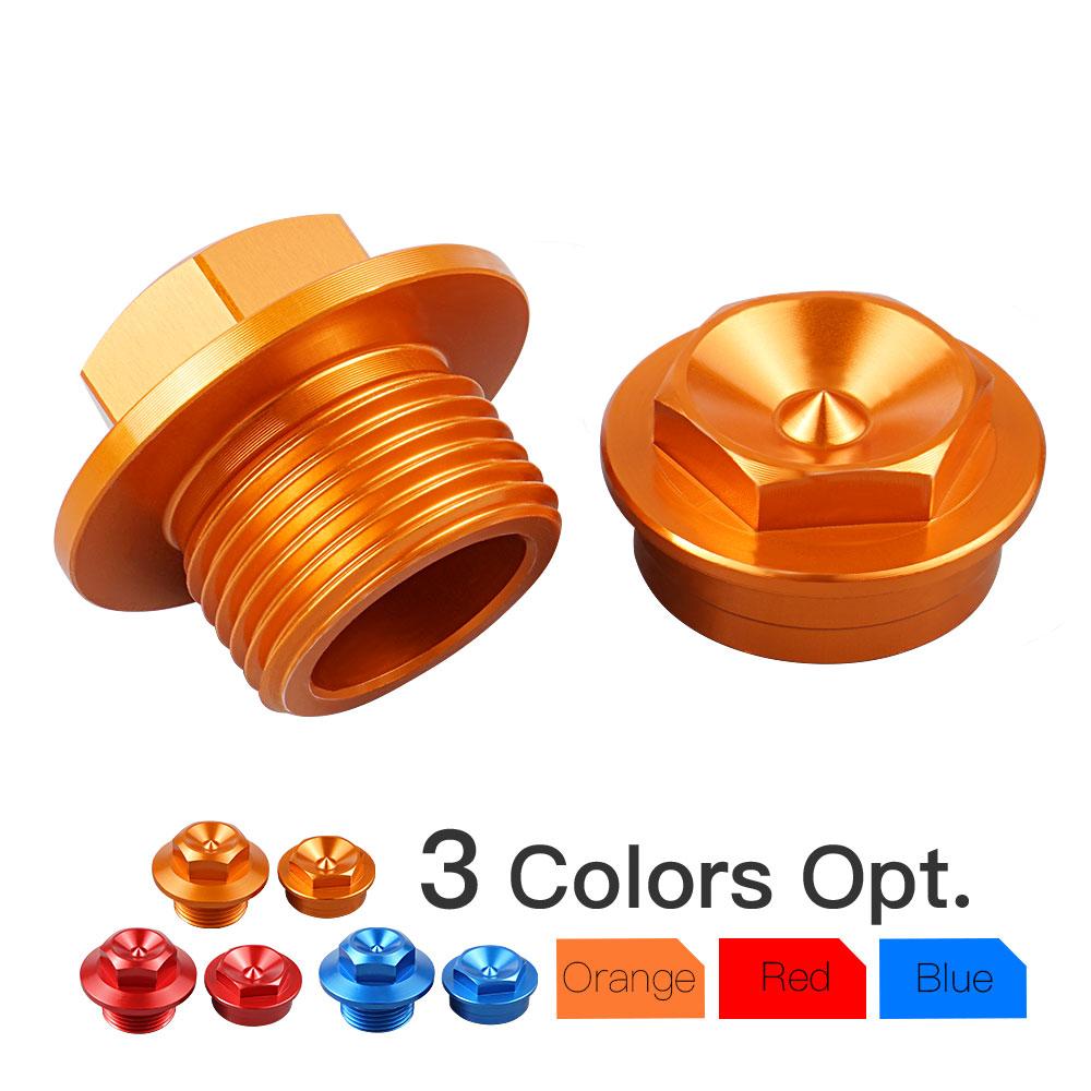 2Pcs Front Wheel Axle Cap Nut Bolts For KTM 250 SX SXF XC XCF 15-19 EXC-F 17-19
