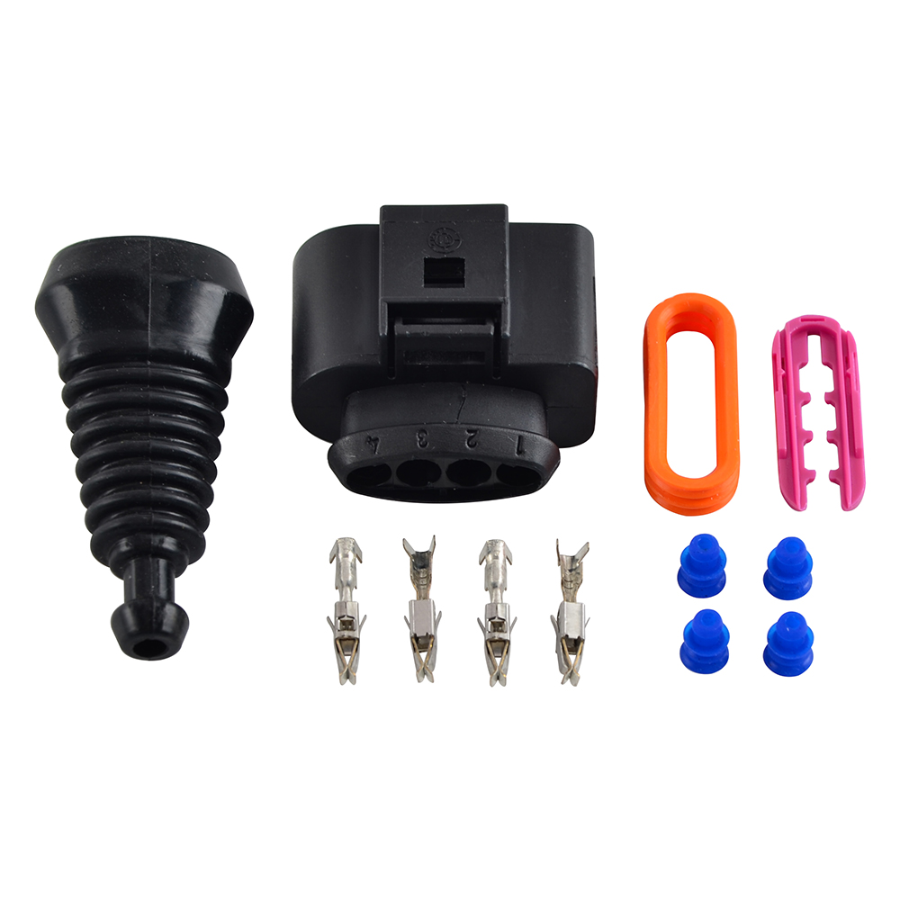 Details about 4x Ignition Coil Wiring Harness Connector Upgrade Repair on ford fusion ignition coil harness, audi a4 engine harness, jeep wrangler ignition coil harness, nissan altima ignition coil harness,