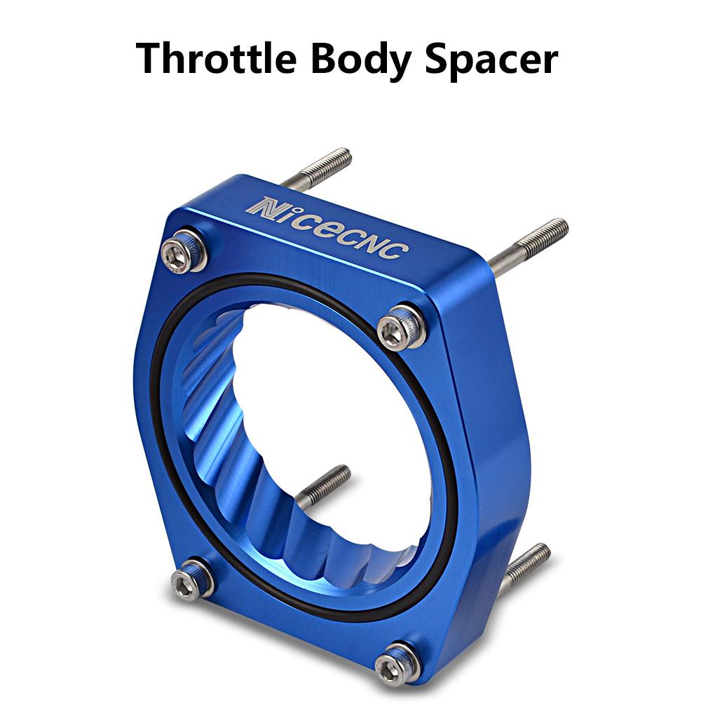 NiceCNC Throttle Body Spacer For Chevy Silverado GMC Sierra 4.8L 5.3L 6.0L 99-07