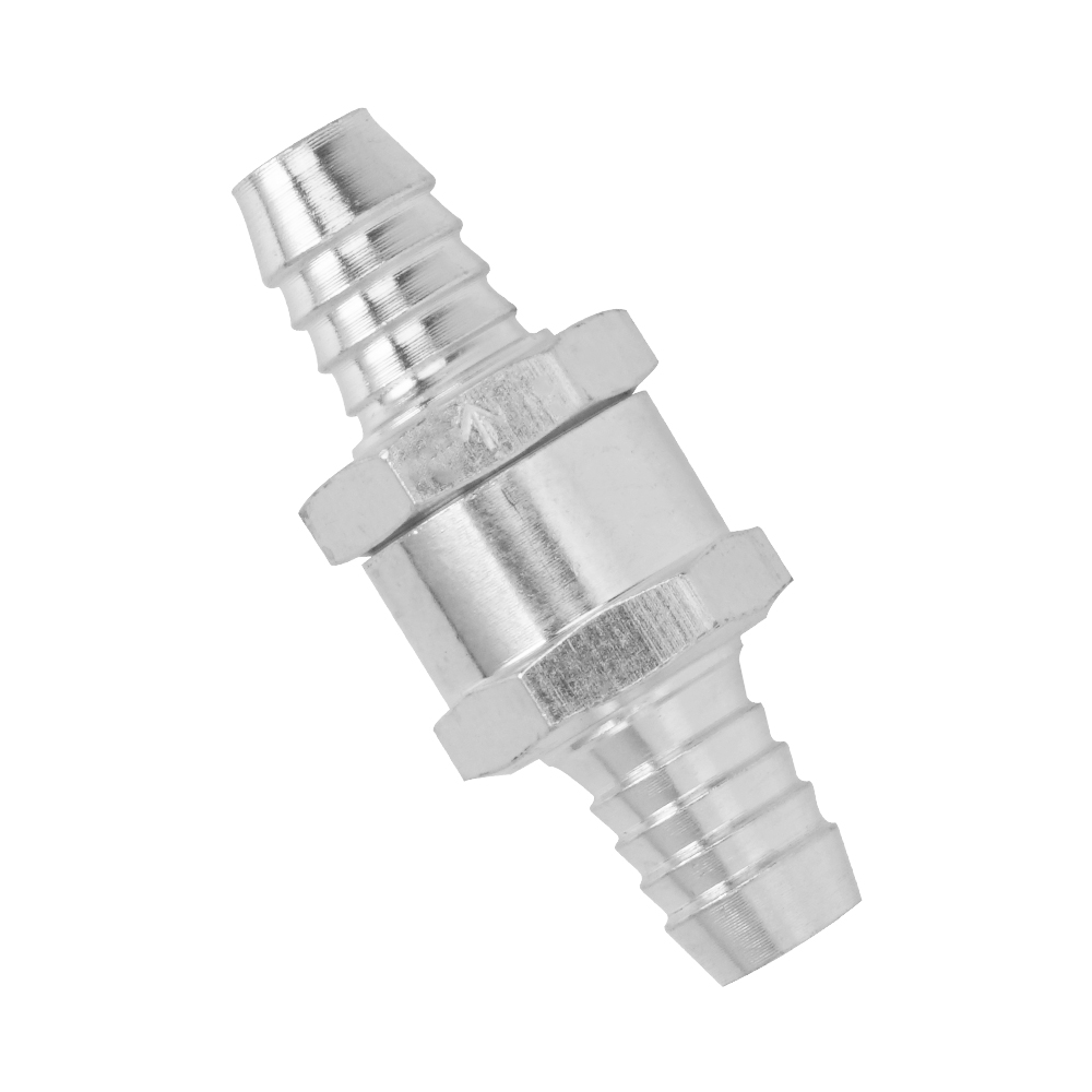 1//2 Inch 12mm Aluminum Alloy One Way Fuel Non-Return Check Valve Diesel Petrol