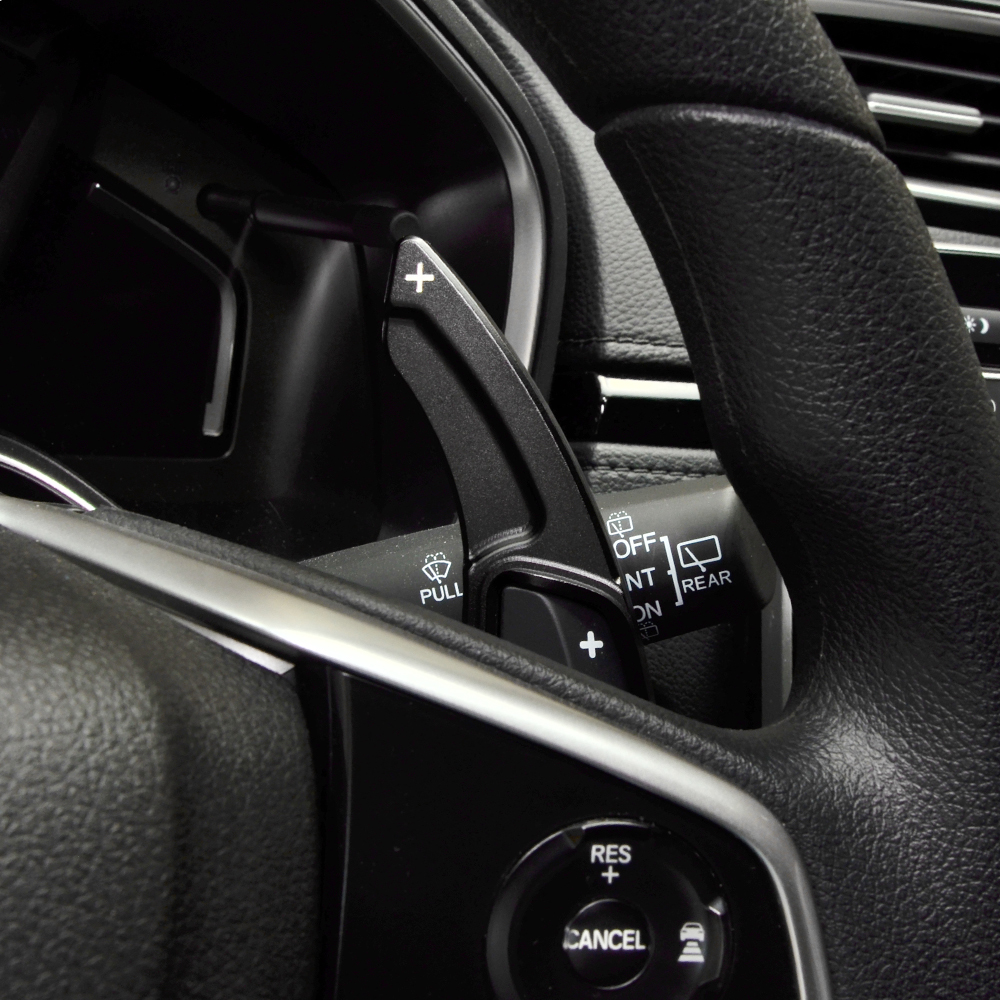 2x Steering Wheel Shift Paddle Extension Shifter For Honda