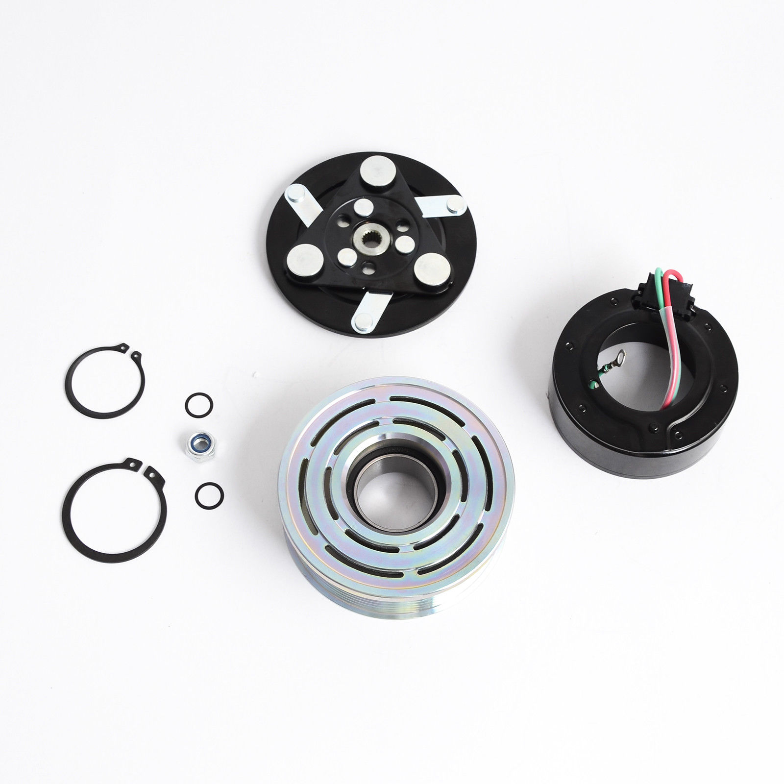 2006 Civic 4 CYL 2.0L AC A//C COMPRESSOR CLUTCH KIT PULLEY COIL  FITS: