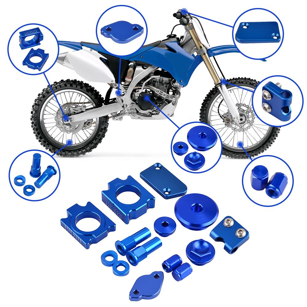 CNC Air Filter Bolt Fit Kawasaki KX250F KX450F Yamaha YZ125 YZ250 YZ250F YZ450F