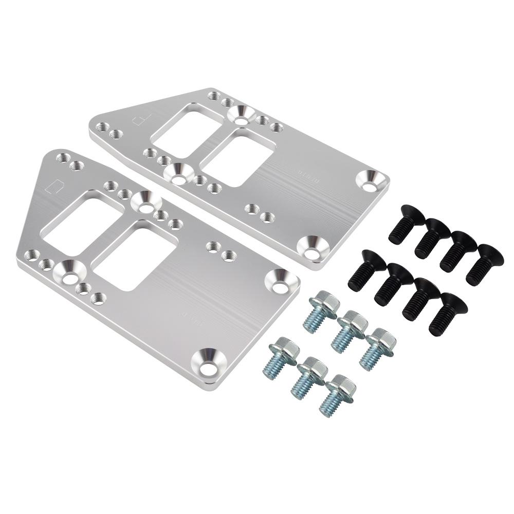LS1 Conversion Motor Mount 4 Position 6061 Aluminum LS Conversion Swap Kit Black
