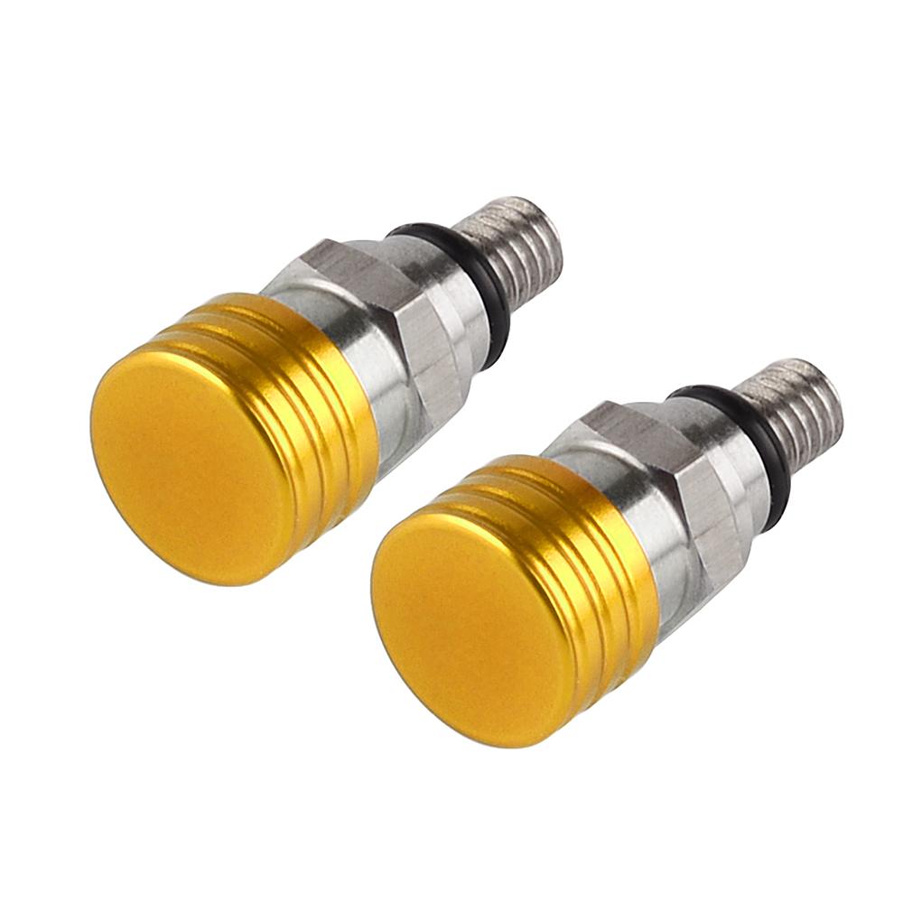M5x0.8 Fork Air Bleeder Valves For Suzuki RM80 RM85 RM125 RM250 RMZ250 RM-Z450