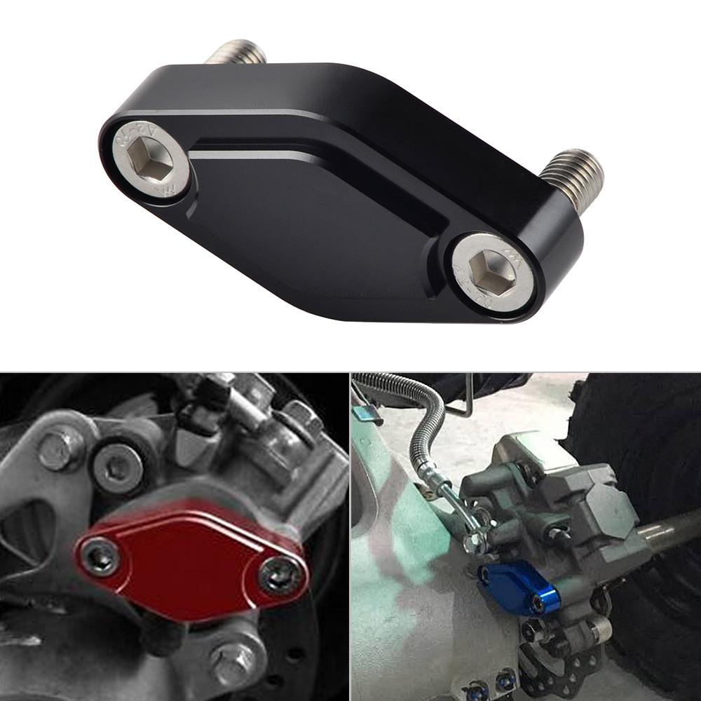 LTR450 ATV Black Path LTZ400 LT500 Black Fits Suzuki Parking Brake Block Off Plate Kit LT250R T6 Billet