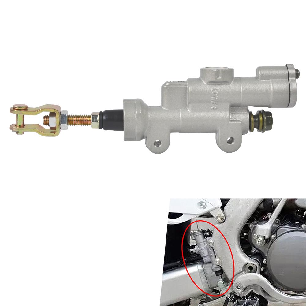Zreneyfex Rear Brake Master Cylinder for Honda Dirtbike CRF 450R CRF450R 2002-2015 Replace # 43500-MEN-305
