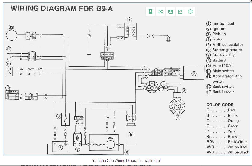 2007 yamaha g22e wiring diagram voltage regulator for yamaha golf cart g8 g9 g14 g16 g20 g21 g22  g8 g9 g14 g16 g20 g21 g22