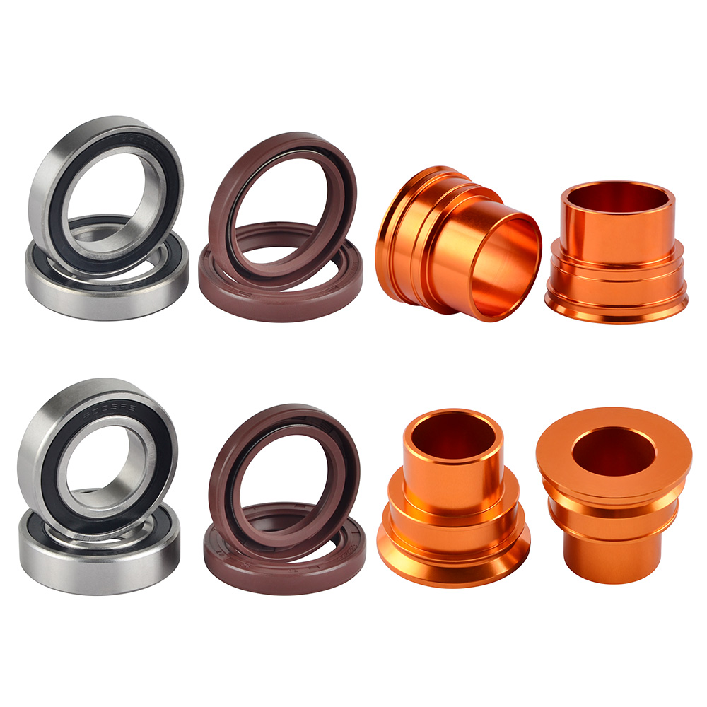 KTM SXF SX 125 150 250 450 SKF Wheel Kit Bearings Spacers Seals 2003-2012 R006