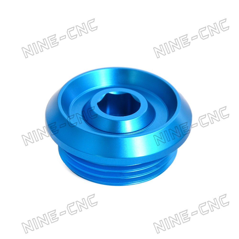 CNC Camshaft Cover Anodized Blue For BMW S1000XR 2014 2015