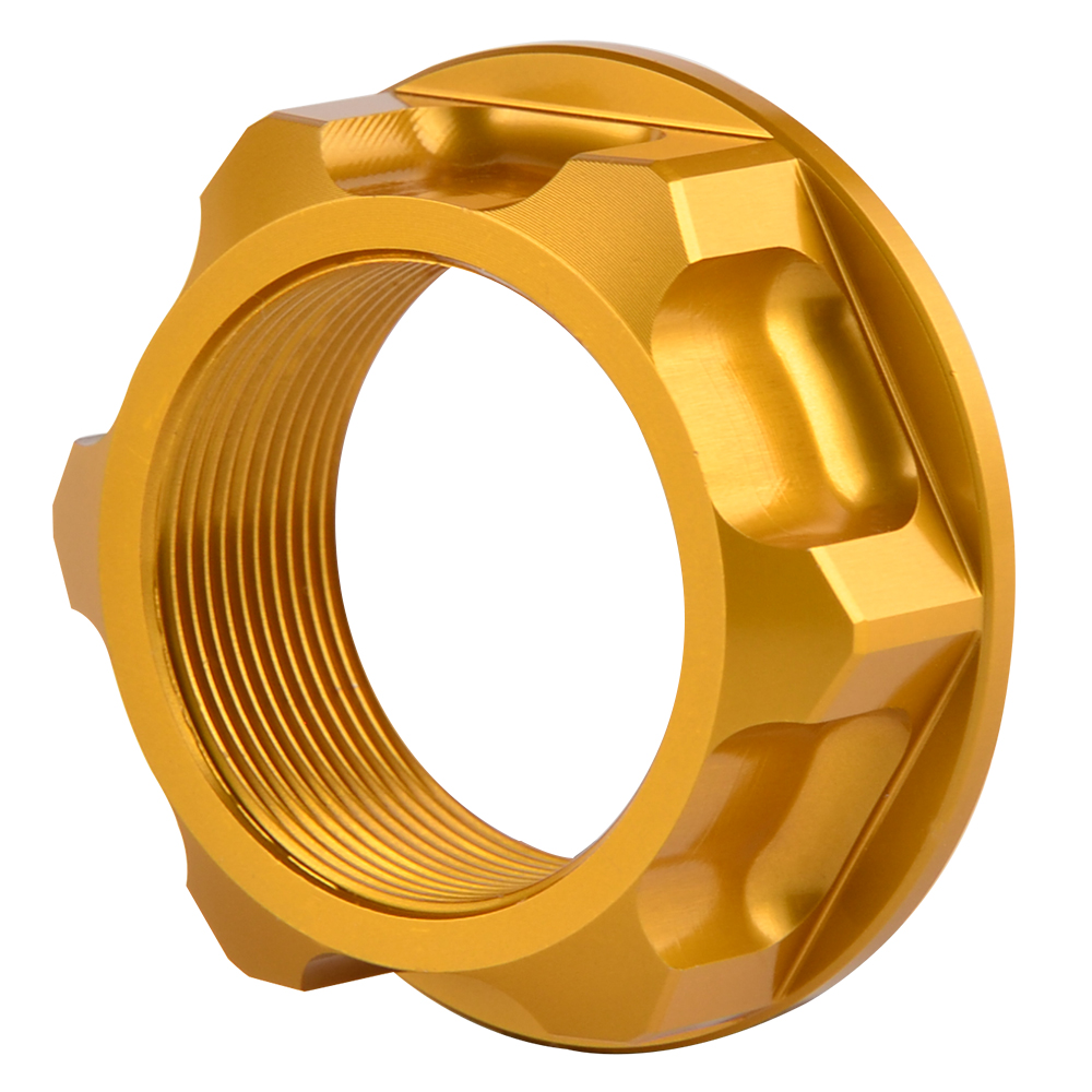 Steering Stem Nut For Suzuki RM125 RM250 2004-2013 RMZ250 2007-2018 RMZ450 05-18